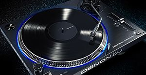 Denon introduces new DJ VL12 turntable
