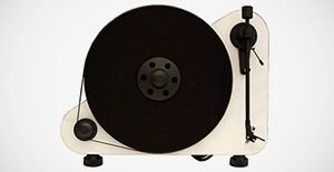Pro-Ject's new vertical, wall-mountable turntable